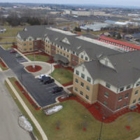 Diamond Senior Apartments at Wingate Drive Aerial View