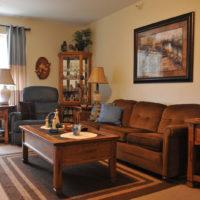 Diamond Senior Apartments at Wingate Drive Living Room