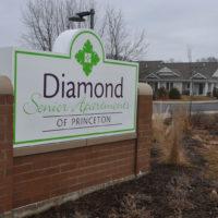 Diamond Senior Apartments of Princeton Sign
