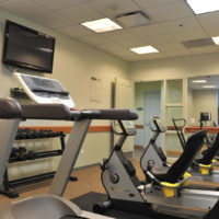 Wrightwood Senior Apartments Fitness Room