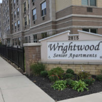 Wrightwood Senior Apartments Sign